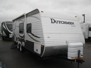 $96 Bi Weekly Dutchmen Lite 25' Trailer with Rear Bath, 1 Slide!