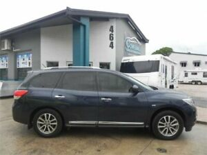 2015 Nissan Pathfinder R52 MY15 ST-L OP (4x4) Blue Continuous Variable Wagon Earlville Cairns City Preview