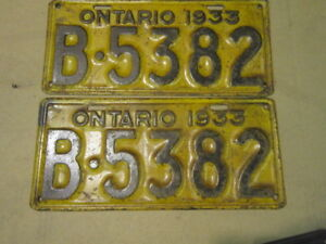 Ministry Approved YOM plates. Register for Antique Cars