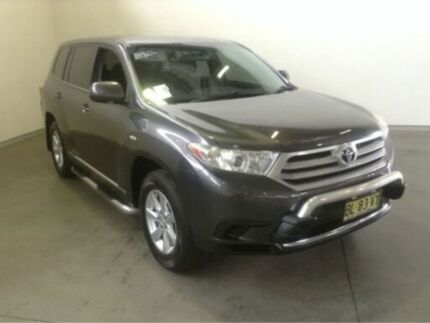 2012 Toyota Kluger GSU45R MY11 Upgrade KX-R (4x4) 5 Seat Graphite 5 Speed Automatic Wagon Westdale Tamworth City Preview
