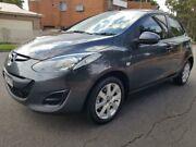 2014 Mazda 2 DJ2HA6 Genki SKYACTIV-MT Grey 6 Speed Manual Hatchback Granville Parramatta Area Preview
