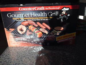 Electric Gourmet Health Grill 1500 Watts