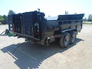 ULTIMATE DUMP TRAILER - 6 TON QUALITY 7 X 12' BED W/COMBO GATE London Ontario image 8