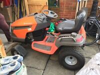 "Husqvarna YTH2454T Ride on Mower 54"" deck only 211 hours"