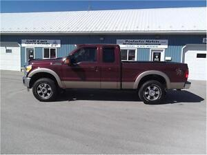 2011 Ford F-250 Lariat,4X4,LEATHER,WELL OILED LOCAL TRADE!! Kitchener / Waterloo Kitchener Area image 9