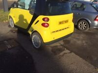 Smart car 2007 yellow!!! Must have!