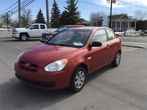 2010 Hyundai Accent GL 5 VIT 1399$ TAX TRANSIT INCLUS 514-692-00