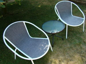 3pc. Patio Set