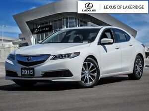 2015 Acura TLX Tech, No Accidents, One Owner, Navi