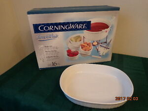 Corning Ware Fondue Set (New In Box) & Oval Dish: All For $15!