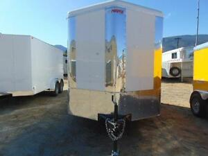 2016 Mirage Toy Hauler Cargo Trailer 7X14 + V-nose w. Ramp