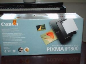 CANON PIXMA JET ENCRE IP1800 PHOTO PRINTER IMPRIMANTE NEUF