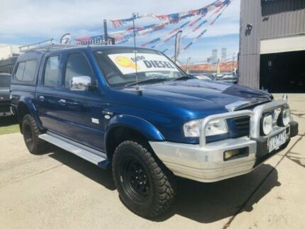 2005 Mazda B2500 Bravo SDX (4x4) Blue 5 Speed Manual Dual Cab Pick-up Brooklyn Brimbank Area Preview