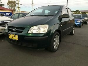2002 Hyundai Getz TB GL Green 4 Speed Automatic Hatchback Sandgate Newcastle Area Preview