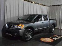 2014 Nissan Titan PRO-4X 4x4 Crew Cab SWB w/ Leather and Heated