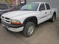 2002 DODGE DAKOTA 4X4 $3995 CASH SPECIAL CHEAP TRUCKS ARE HERE!