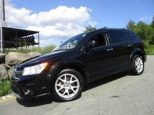 2013 DODGE JOURNEY R/T (AWD, LEATHER, R/START, HEATED SEATS & WH