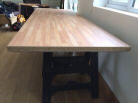 Beech block 900mm wide laminate worktop