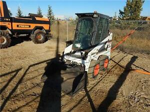 2006 BOBCAT 463 SKID STEER LOADER WITH CAB, HEAT