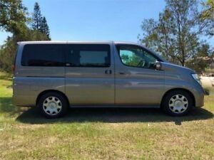 2007 Nissan Elgrand E51 Highwaystar Grey Automatic Wagon
