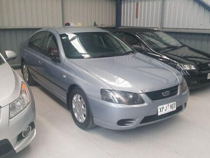 2007 Ford Falcon BF Mk II XT Silver 4 Speed Sports Automatic Sedan Lonsdale Morphett Vale Area Preview