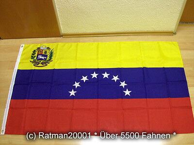 Fahnen Flagge Venezuela Neu - 90 x 150 cm