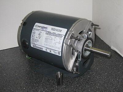 MARATHON .33 HP 3600 RPM ODP 115/230 VOLTS 48Z 1 PHASE MOTOR NEW SURPLUS
