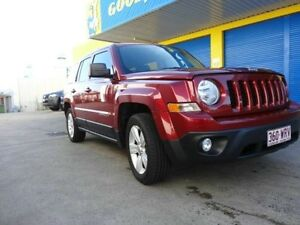 2014 Jeep Patriot MK MY15 Limited Cherry Red Semi Auto Wagon Kippa-ring Redcliffe Area Preview