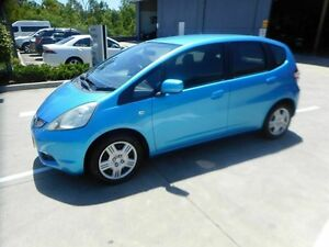 2008 Honda Jazz GE MY09 VTi Blue 5 Speed Automatic Hatchback Yamanto Ipswich City Preview