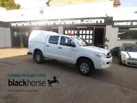 2011 Toyota Hilux HL2 2.5D-4D 4x4 Double Cab A/C Truckman Top EW Diesel white Ma