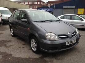 2005 NISSAN ALMERA TINO - NEW M.O.T - IDEAL FAMILY MPV - VERY SPACIOUS/GREAT SPEC