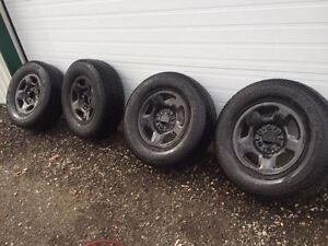 f150 winter tires and rims Sarnia Sarnia Area image 1