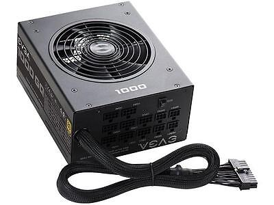 EVGA 210-GQ-1000-V1 GQ 80 Plus Gold 1000W ECO Mode Semi Modular Power Supply