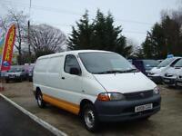 2006 TOYOTA HIACE 2.5 D 4D 300 GS LWB 88 BHP NO VAT