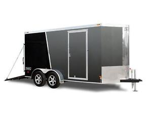 Haulmark Aluminum 7 x 14 Enclosed Trailer with Ramp Door