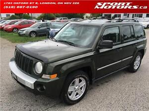 2008 Jeep Patriot Limited! New Brakes! Leather! Sunroof! A/C!