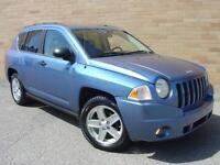 2007 Jeep Compass 4X4. Rare 5 speed manual! Only 169000 Km!