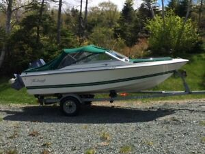 For Sale: Boat, Motor and Trailer