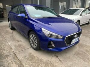2019 Hyundai i30 PD2 MY20 Active Blue 6 Speed Sports Automatic Hatchback North Hobart Hobart City Preview
