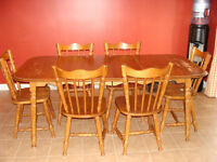 dining set/ensemble de table de cuisine