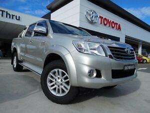 2013 Toyota Hilux KUN26R MY12 SR5 (4x4) Gold 4 Speed Automatic Dual Cab Pick-up Greenway Tuggeranong Preview