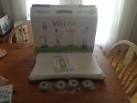 Wii Balance Board & Wii Fit Plus Game