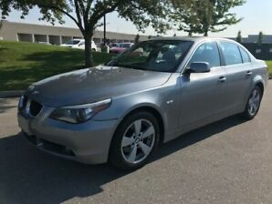 2006 BMW 5 XI |ACCIDENT FREE|NAVIGATION|LEATHER|LOW KMS|SUNROOF!