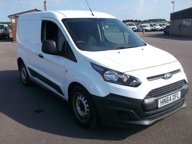 Ford Transit Connect 1.6 TDI 95 PS VAN DIESEL MANUAL WHITE (2014)