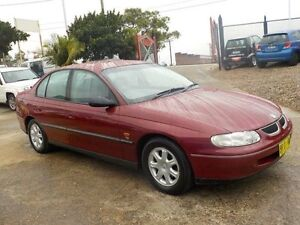 1999 Holden Commodore Vtii Olympic Edition Red 4 Speed Automatic Sedan North St Marys Penrith Area Preview