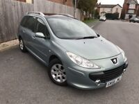 PEUGEOT 307 1.6 SW S HDI 5DR (grey) 2006