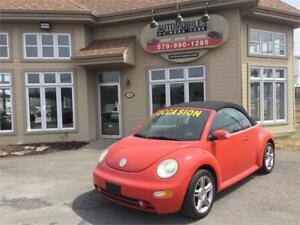 2004 Volkswagen New Beetle Convertible GLX