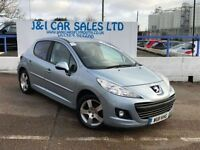 PEUGEOT 207 1.6 HDI SPORT 5d 92 BHP A LOW PRICE DIESEL WITH FS (blue) 2011