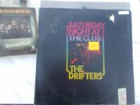 Vinyl LP Saturday Night At Club – The Drifters Atlantic K 40412 1977