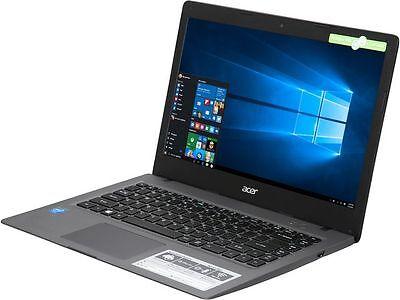 Acer Cloudbook 14 Hd Intel Celeron N3050 2 16Ghz 32Gb Ssd 2Gbram Hdmi Win10 Newo